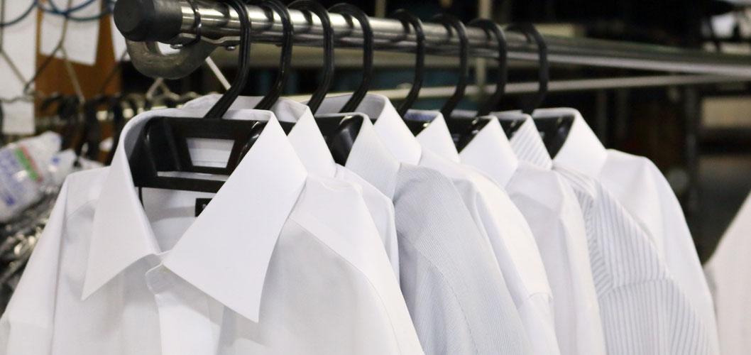 衣類のクリーニング